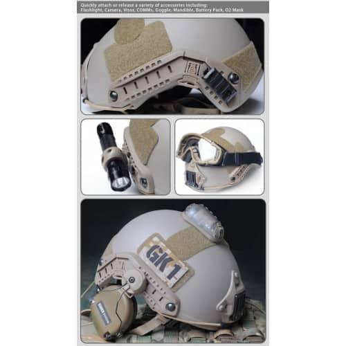 fma fast helmet carbon fibre version dark earth 4