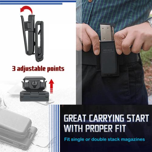 amomax universal pistol magazine pouch 3