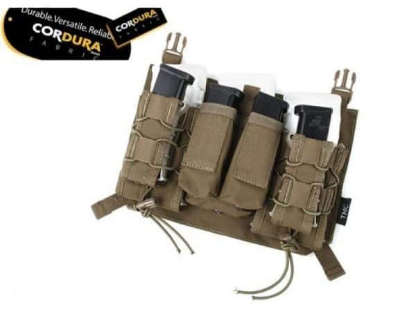 tmc assaulters panel for 420 plate carrier - coyote