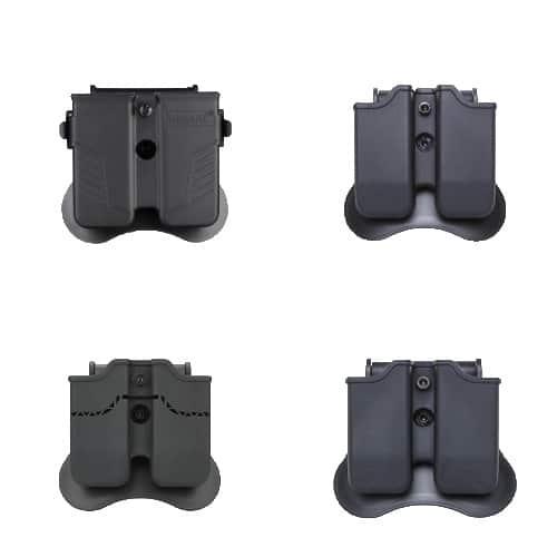 amomax double pistol magazine holster