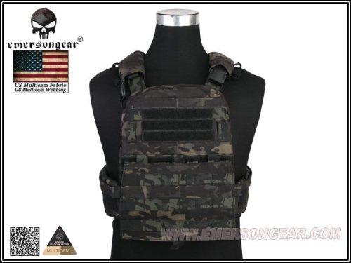 emerson gear heavy duty avs vest adaptive plate carrier multicam black