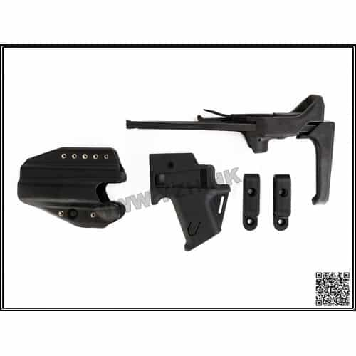 emerson gear flx g17 stock and holster set black 1