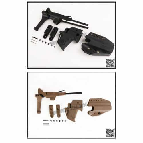 emerson gear flx g17 stock and holster set both