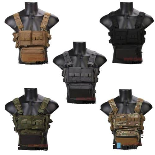 emerson gear micro fight chest rig all