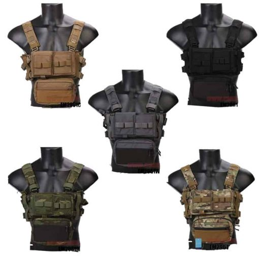 emerson gear micro fight chest rig all