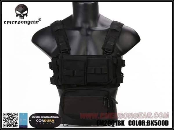emerson gear micro fight chest rig black