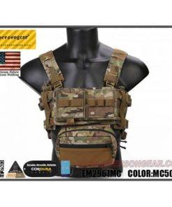 emerson gear micro fight chest rig multicam