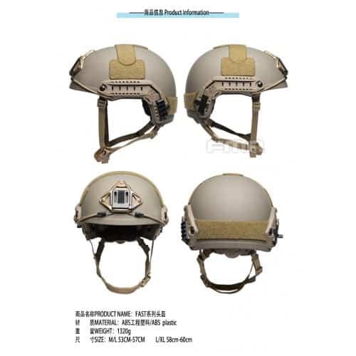 fma fast helmet heavy version 2