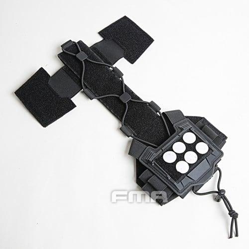 fma universal helmet bridge cover for tactical helmet black