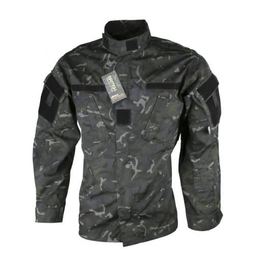 kombat uk acu assault shirt - btp black