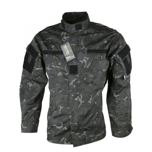 kombat uk acu assault shirt - btp black