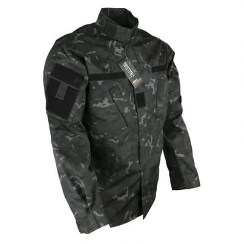 kombat uk acu assault shirt - btp black 2