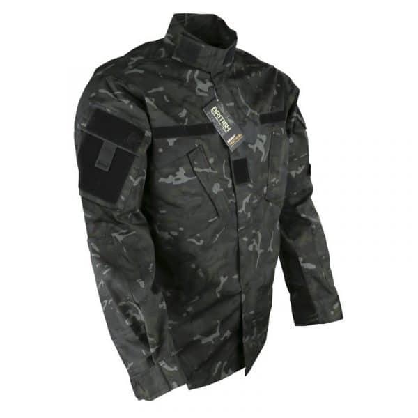 kombat uk acu assault shirt - btp black 2