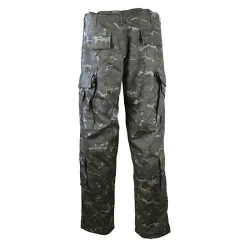kombat uk acu assault trousers btp black back