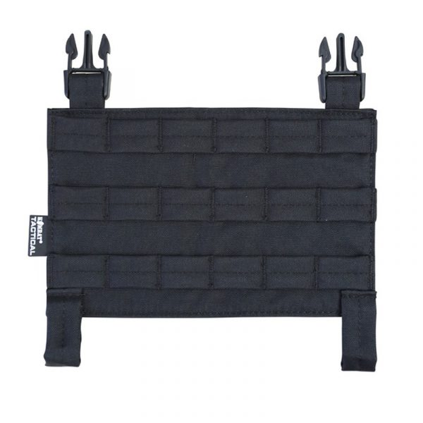 kombat uk buckl-tek molle panel black