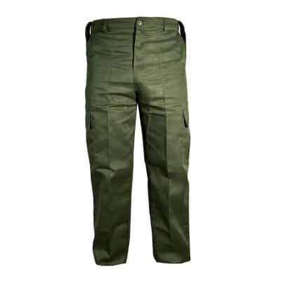 kombat uk olive green combat trousers