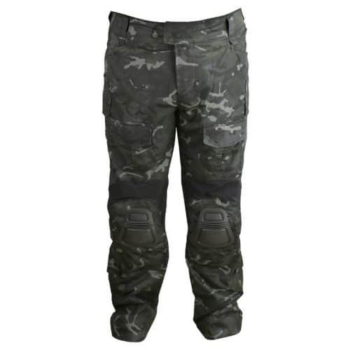 kombat uk gen ii special ops trousers - british terrain pattern black
