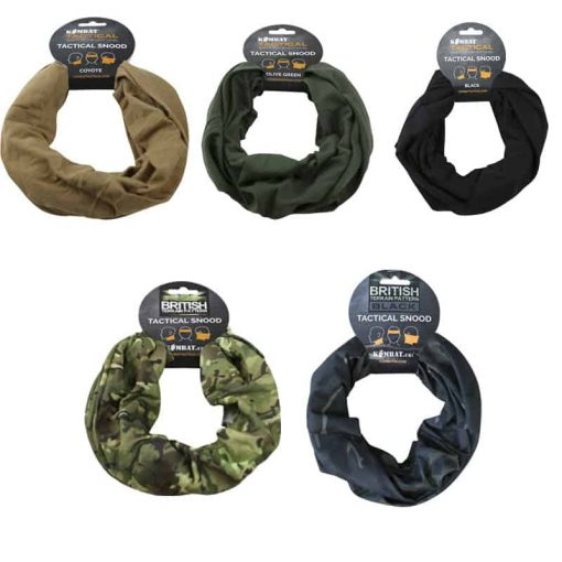 kombat uk tactical snood face covering all