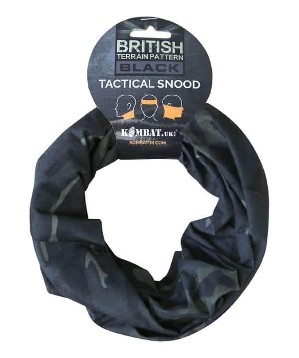 kombat uk tactical snood face covering btp black