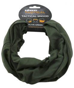 kombat uk tactical snood face covering olive