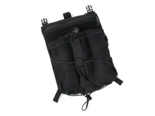 tmc helmet carrier panel for 420 plate carrier - black