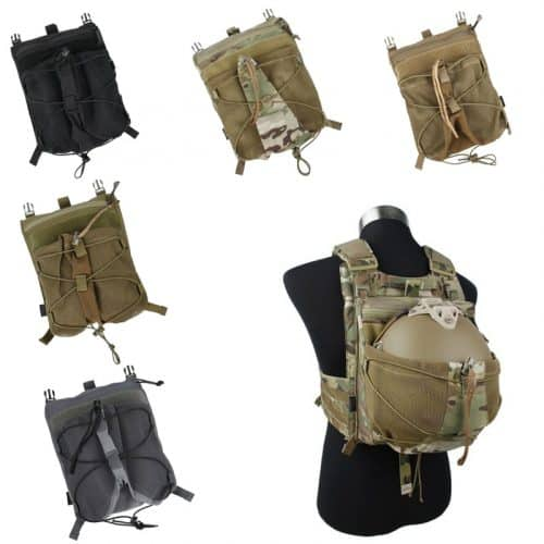 tmc helmet carrier panel for 420 plate carrier - all