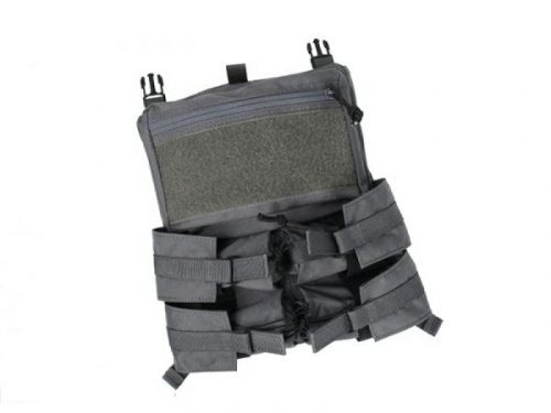tmc assault back panel for 420 plate carrier - wolf grey