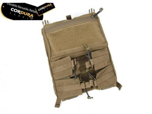 tmc assault back panel for 420 plate carrier - coyote brown