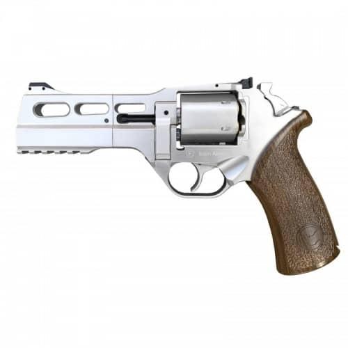 """chiappa rhino airsoft revolver 50ds 5"""" silver"""