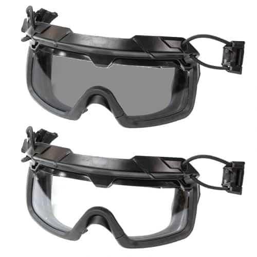 fma tactical helmet goggles both