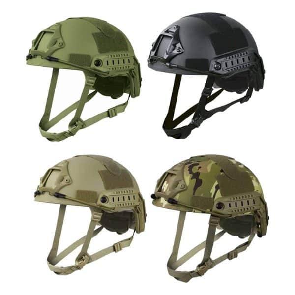 kombat uk adjustable fast helmet all
