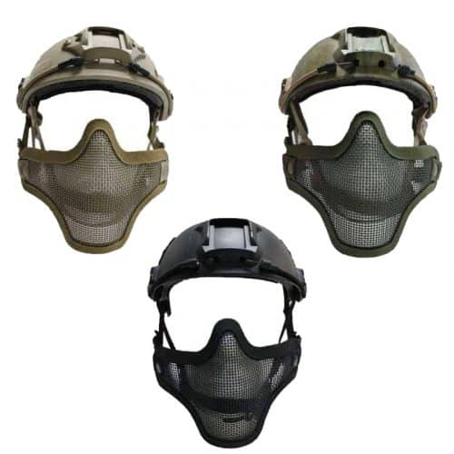 oper8 fast helmet mesh mask all