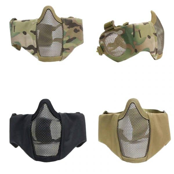 oper8 slimline mesh mask with ear protection all