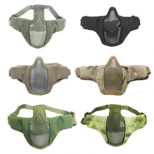 oper8 twin strap slimline mesh mask all