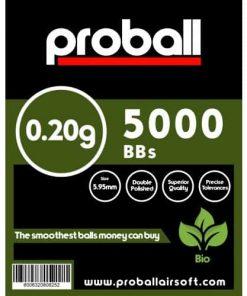 proball 0.20 biodegradable bbs 5000