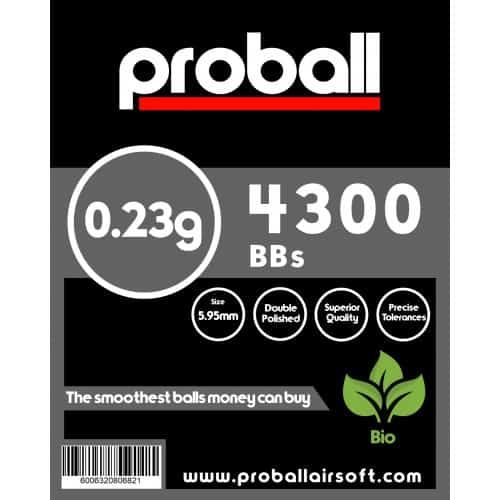 proball 0.23g biodegradable bbs 4300