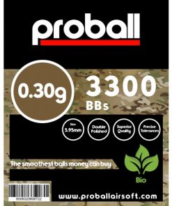 proball 0.30g biodegradable airsoft bbs 3300