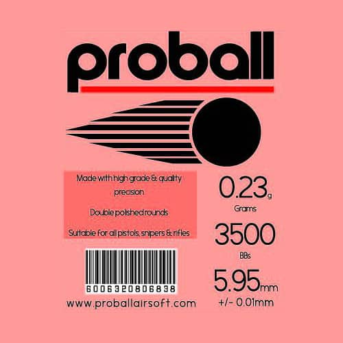 proball 0.23g airsoft bbs