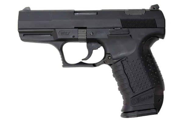 WE P99 God Of War Airsoft Gas Pistol Bundle