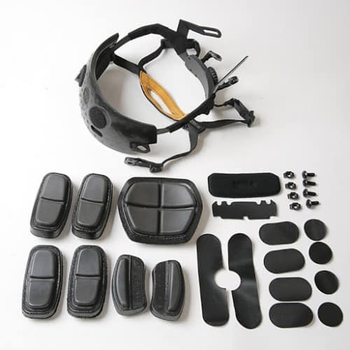 fma fast helmet upgraded liner kit 8
