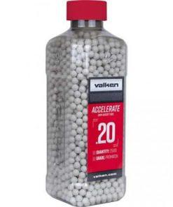 valken accelerate airsoft bbs 0.20g 2500