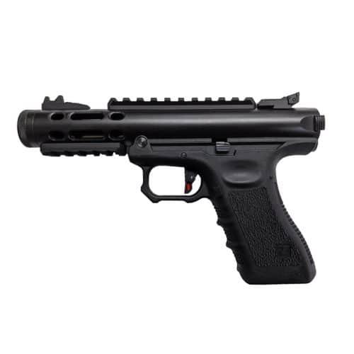 we galaxy g series gas blowback pistol black left