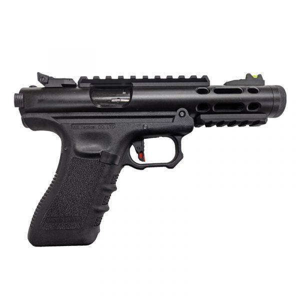 we galaxy g series gas blowback pistol black right
