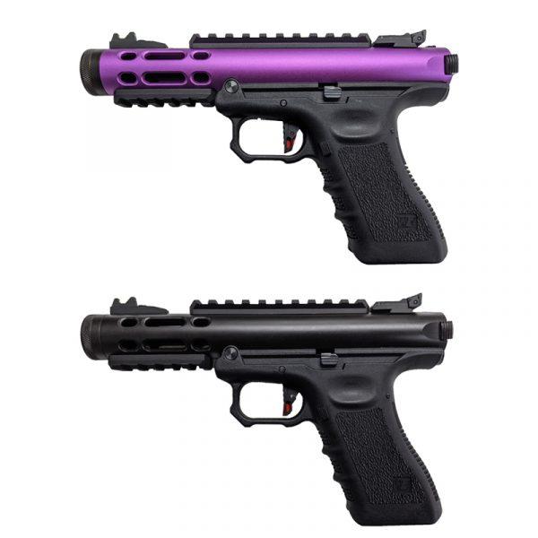 we galaxy g series gas blowback pistol both