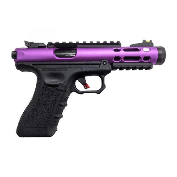 we galaxy g series gas blowback pistol purple right