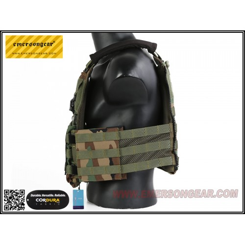 emerson gear vs style scarab plate carrier woodland 3