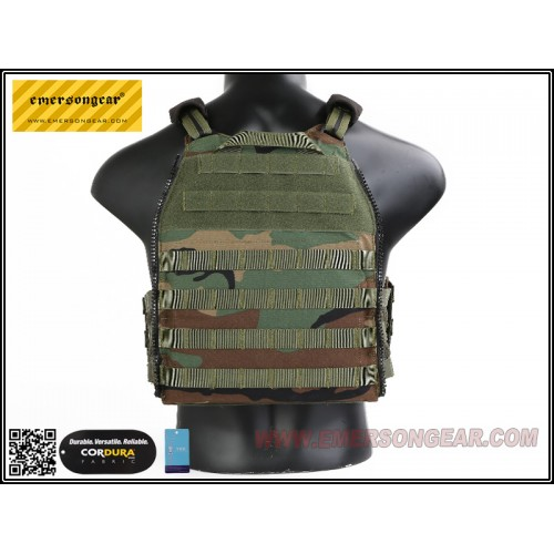 emerson gear vs style scarab plate carrier woodland 4