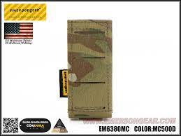 emerson gear lcs multi-calibre pistol magazine pouch multicam