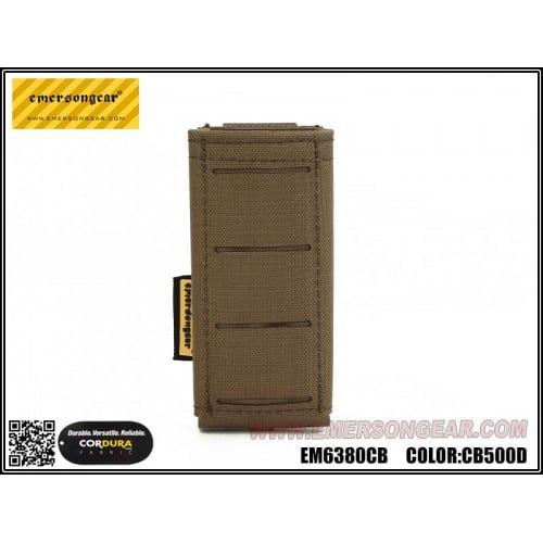 emerson gear lcs multi-calibre pistol magazine pouch coyote brown