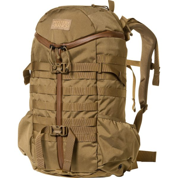 mystery ranch 2 day assault pack l/xl coyote